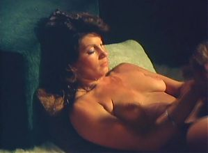 Leslie Bovee and Abigail Clayton get it on in a 70's flick