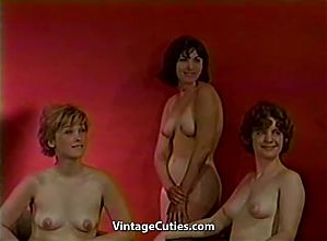 French Erotic Photo Session (1960s Vintage)