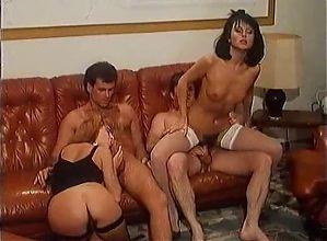 Great hairy scene with Luana borgia  and Manya