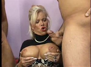 Cumshots on Babette Blue