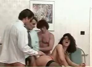 Bella Angelica Fucks 3 Men At Work & Gets Dualingus ((FYFF))