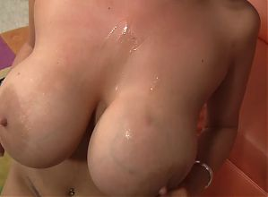 Katie Kox blessed with huge breasts